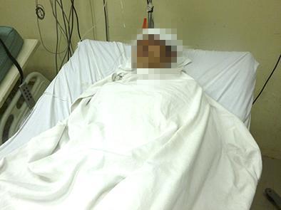 Motociclista está grave tras accidente de tránsito