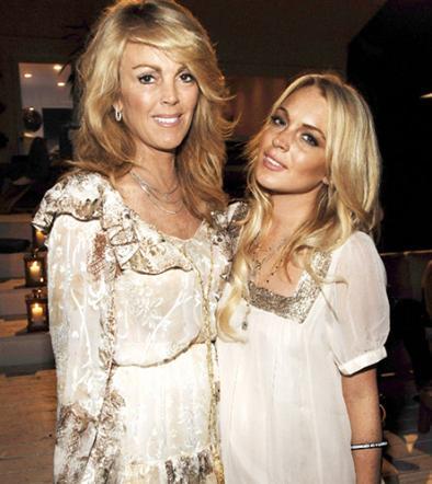 Madre de Lindsay Lohan  es multada por la Policía