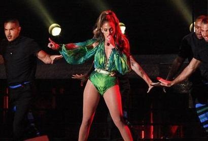 Jennifer López ofreció un gran concierto a su gente de Bronx