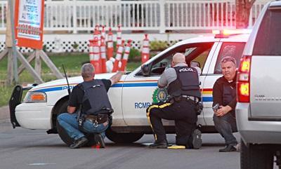 Joven canadiense inicia tiroteo que deja a 3 policías muertos