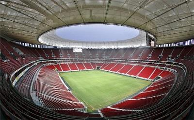 La Selección de Ecuador debutará en el estadio Mané Garrincha