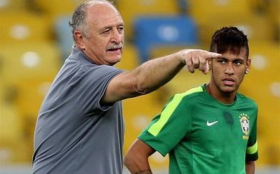 Técnico de Brasil se conforma con que Neymar se esfuerce