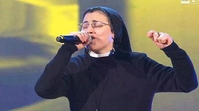 Sor Cristina está a un paso de ganar el concurso 'La Voz' en Italia