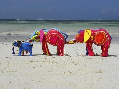 Kenia convierte la basura del mar en arte