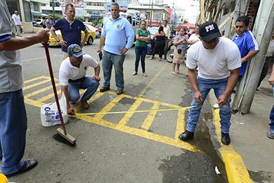 Ordenamiento se dio con acuerdos entre municipio y los comerciantes