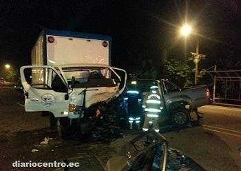 Accidente de tránsito en la vía Santo Domingo-El Carmen deja un muerto