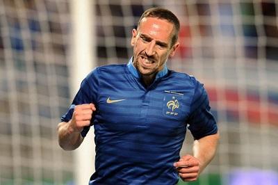 Ribéry se perderá el Mundial Brasil 2014 por una lesión en su espalda
