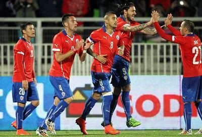 Chile, primera selección latinoamericana que llega a Brasil