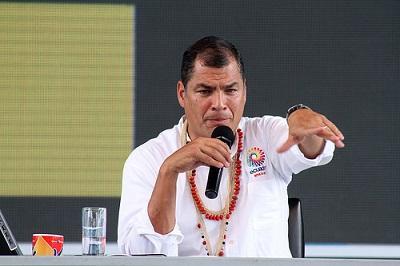 Visita a Brasil será también muestra de apoyo a Rousseff, dice Correa
