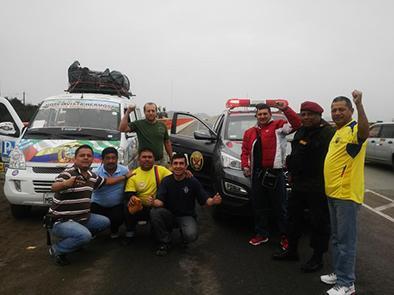Manabitas dejan Perú y siguen camino por Bolivia