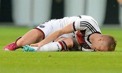 El alemán Marco Reus no irá al Mundial por lesión en su tobillo