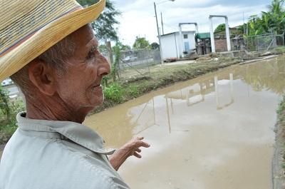 Planta de Cuatro Esquinas paraliza el bombeo de agua