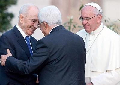 El papa reúne a los presidentes de Israel y Palestina para fomentar paz