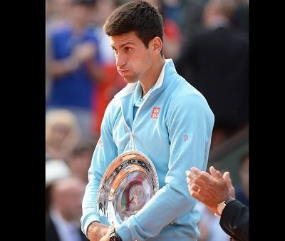 Djokovic está decepcionado por no haber ganado el Roland Garros