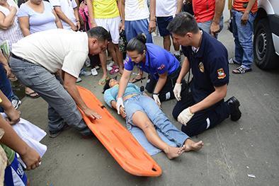 3 heridos en 2 choques