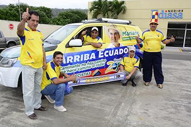 Otros cinco manabitas partieron hasta Brasilia