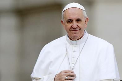 Francisco pidió oraciones por él