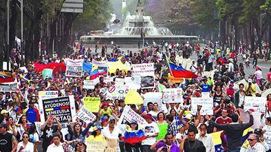 Machado llama hoy a marchas