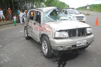 Accidente deja a 9 personas heridas en El Carmen