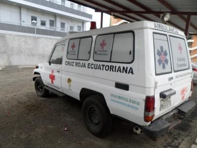 tres ambulancias están dañadas