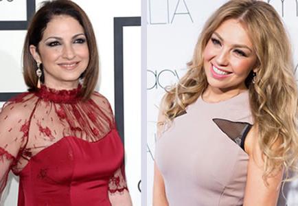 Gloria Estefan y Thalia, mujeres latinas en la alfombra roja de los Tony