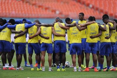 La Selección de Ecuador inició sus entrenamientos en Vila Ventura
