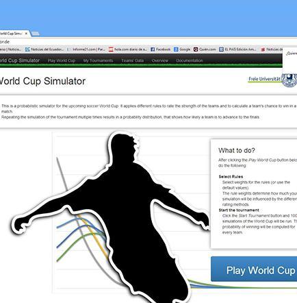 Crean simulador virtual de pronósticos de fútbol