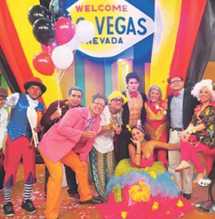Sandra Pareja celebró su cumpleaños en un show