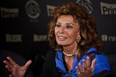 Sophia Loren recibirá hoy el Premio Especial en los David de Donatello