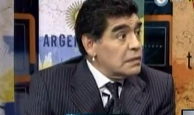 Diego Maradona: 'La multinacional FIFA se está comiendo la pelota' (video)