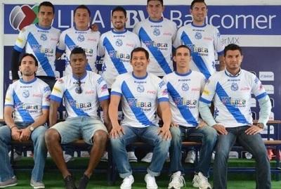 Marlon de Jesús se puso la camiseta de su nuevo club, el Puebla