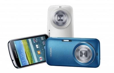Lanzan el Galaxy K Zoom, un smartphone con cámara de muy alta calidad