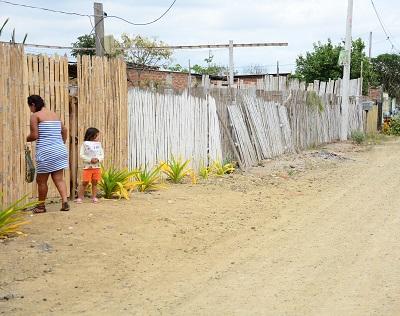 Moradores del barrio Río Blanco piden alcantarillado sanitario