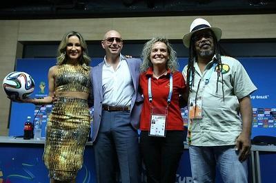 'La música es un lenguaje universal como el fútbol', dice Pitbull