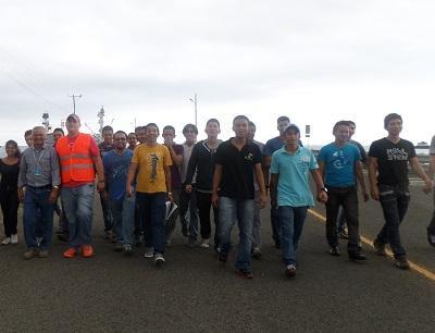 Conocen trabajo operativo en Puerto Atún