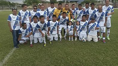 Ocho equipos participan  En torneo de fútbol
