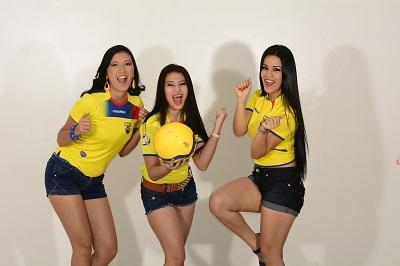 Las mujeres también viven la pasión del fútbol