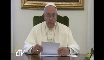El papa desea que el Mundial sea una fiesta de solidaridad entre pueblos (VIDEO)