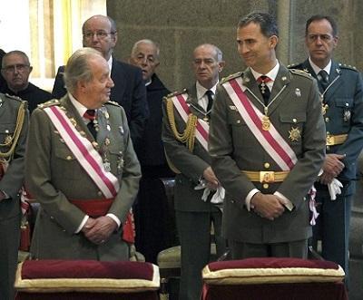 El rey Juan Carlos no estará en la proclamación de Felipe VI