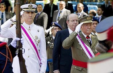 Juan Carlos no ira a proclamación