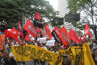 Protesta ensombrece la inauguración del Mundial