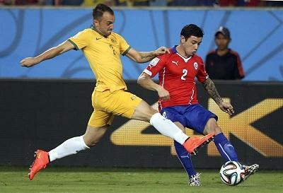 Chile ganó 3-1 a Australia en el estadio Arena Pantanal (VIDEOS)