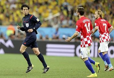 La prensa croata está indignada por la actuación del árbitro Nishimura