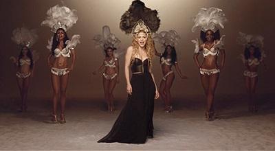 Shakira agradece por las visitas al video  'La La La (Brasil 2014)'