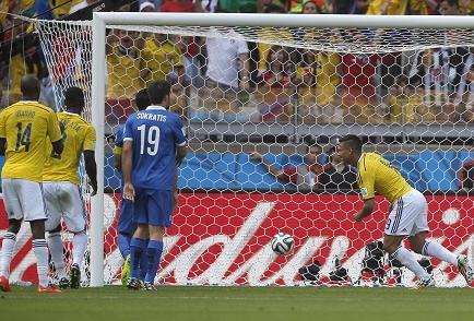 Colombia vence 3-0 a Grecia en el estadio Mineirão (Videos)