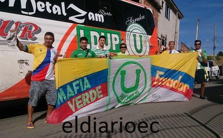 Hinchas de Liga de Portoviejo viajan a Brasil para apoyar a la 'Tri'