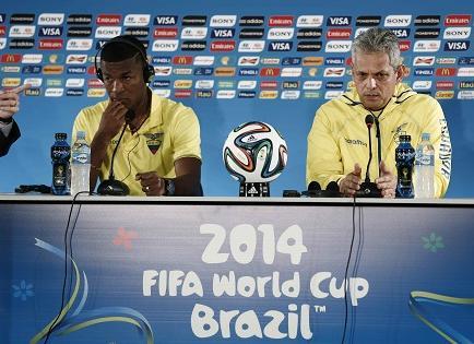 Rueda contará con los 23 jugadores ecuatorianos frente a Suiza