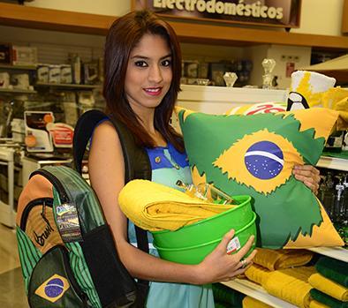 El Mundial de Brasil se toma el comercio