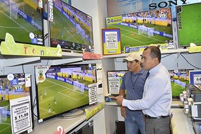 Tv, lo más vendido