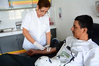 Hoy, día mundial del Donante de Sangre